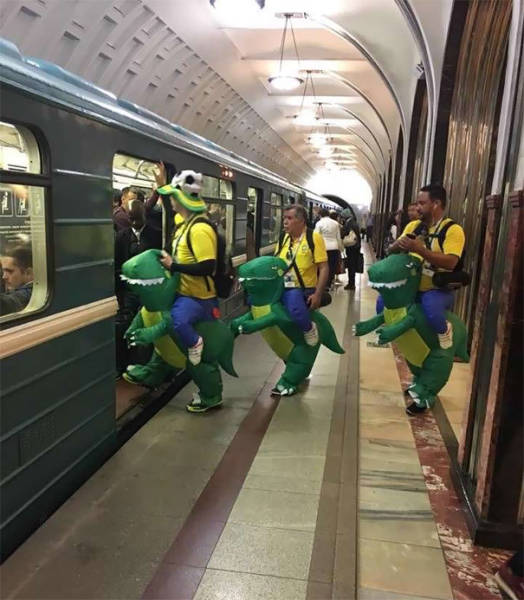 Subway Is Full Of Just About Anything