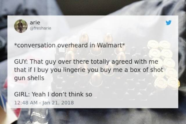 Walmart Is Full Of Strange People And Even Stranger Conversations