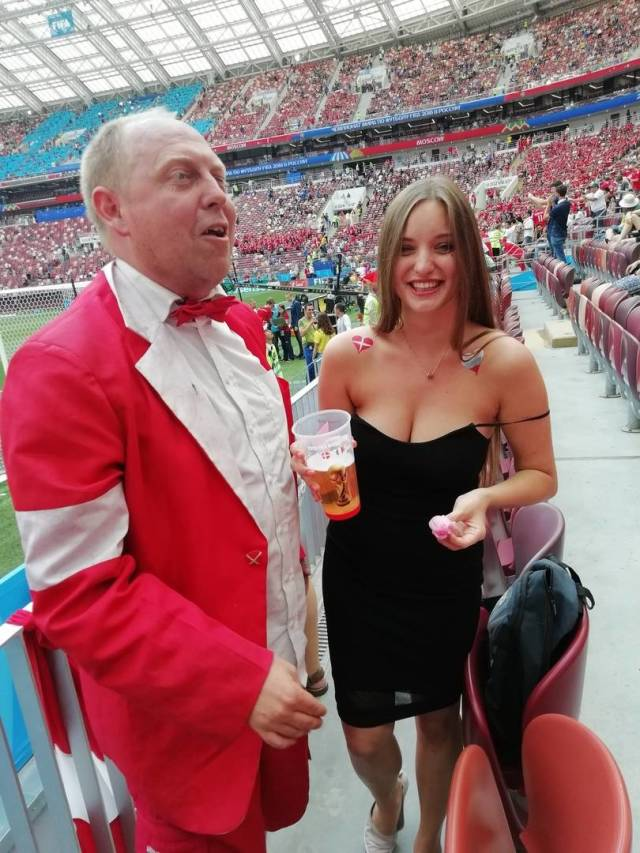 Denmark VS France Game Had Another, More Spectacular Sight
