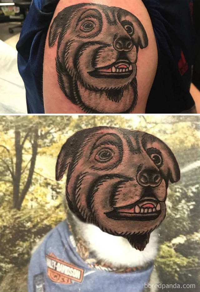 The Ultimate Way To Test A Tattoo Is To Face-Swap It