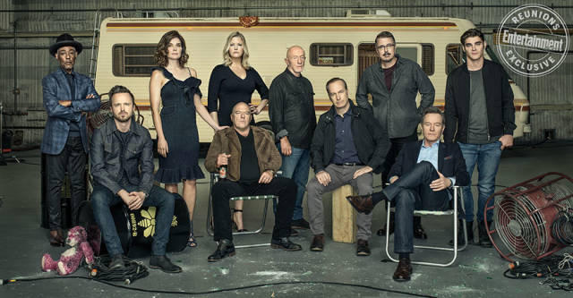"""Breaking Bad"" Cast Comes Back Together After Long 10 Years"