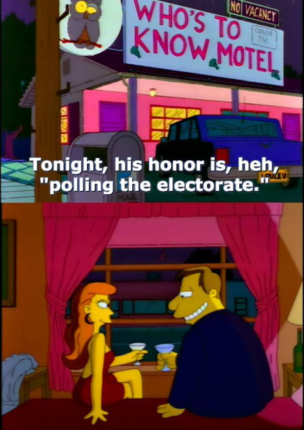 Simpsons Had Many Dirty Jokes That Kids Just Didn't Understand