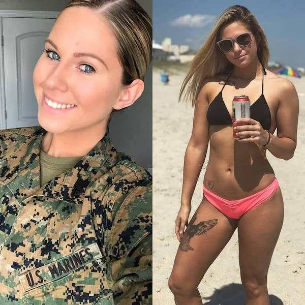 Uniform Ladies Don't Always Wear Their Uniforms