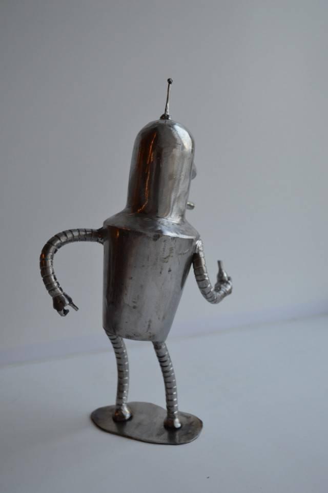 "Handmade Bender From ""Futurama"""