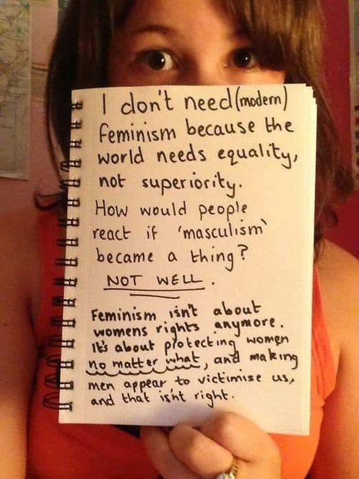 Not All Women Choose Feminism