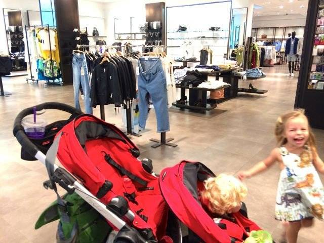 Shopping Wasn't Made For Kids…