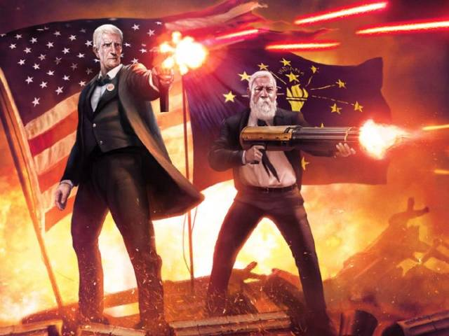 US Presidents Look Way Cooler This Way!