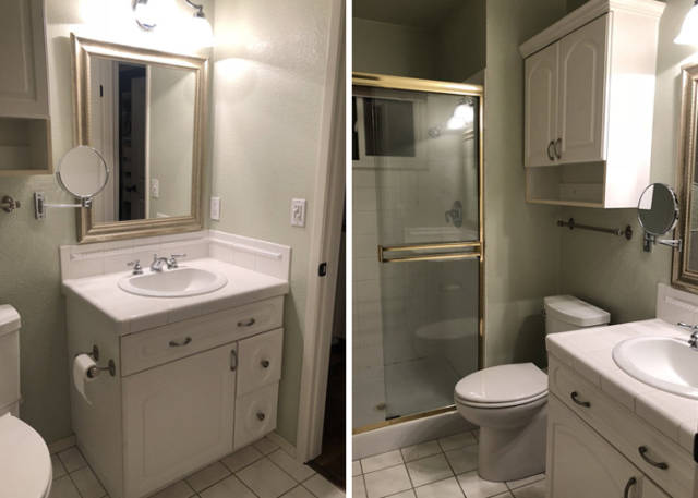 Bathroom Remodeling Came With A Surprise For This Couple