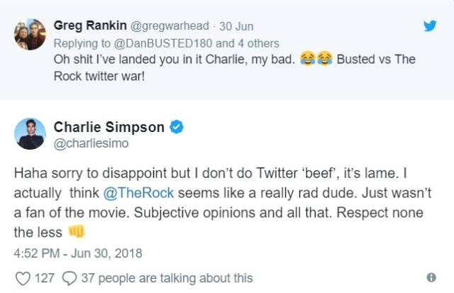 It's Hard To Mess With Dwayne Johnson, Even On Twitter