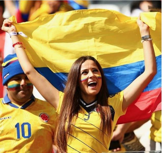 Some World Cup Fans Are A Real Eye Candy