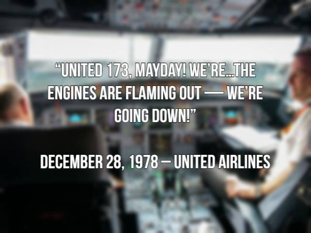 The Only Things Pilots Have Got Left To Say Before Their Planes Crashed