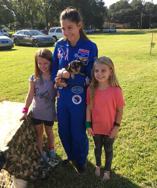 This 17-Year-Old Girl Is Very Close To Fulfilling Her Dream Of Being The First Human To Visit Mars