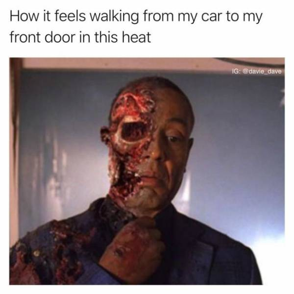 Brainmelting Memes That Can't Even Describe How Hot It Is Outside