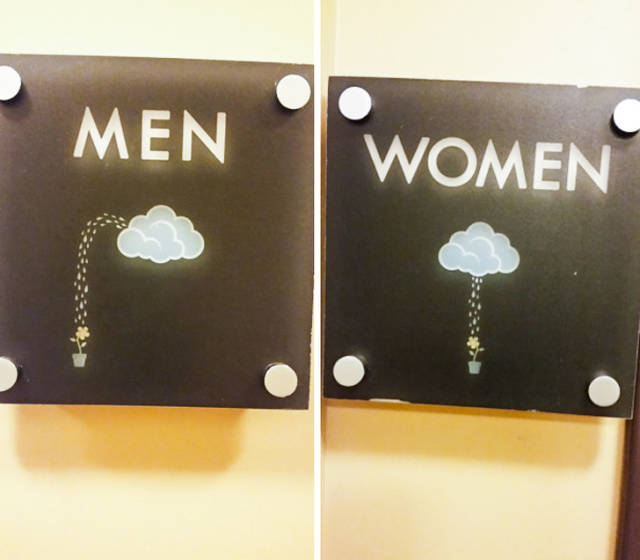Funny Bathroom Signs That Will Put A Smile On Your Face