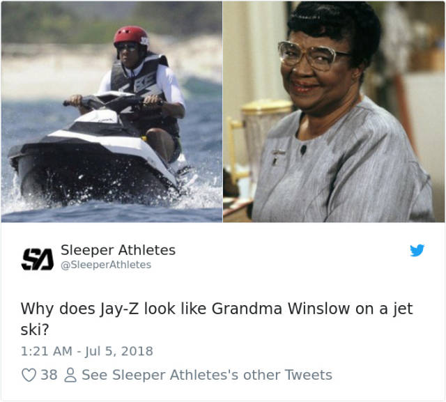 Jay-Z Looking Miserable On A Jet-Ski Is A Brand New Meme