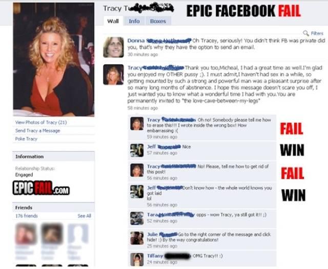 It Looks Like People Go On Facebook Just To Fail