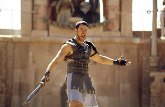 The Gladiator Is Nothing Like He Used To Be…