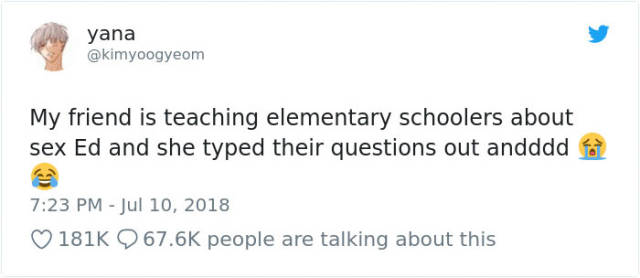 Sex Ed Questions That Don't Make Any Sense At All