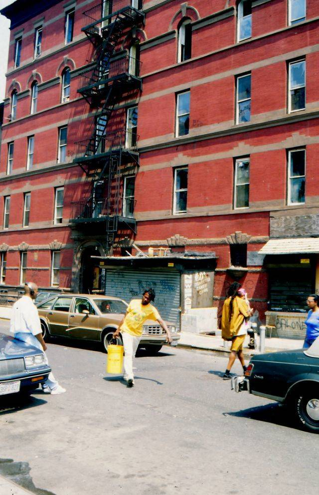 Harlem, New York City, Almost 30 Years Ago