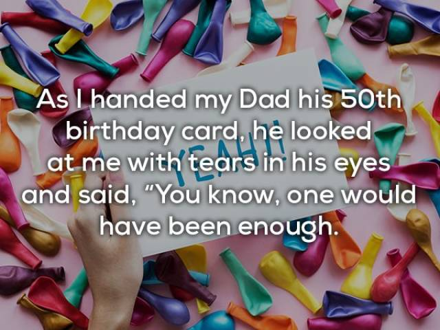 There's Nothing Better Than A Good Dad Joke