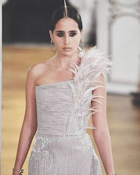 First Saudi Couture Model, Taleedah Tamer, Hits Paris Fashion Week
