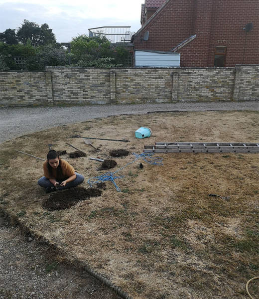 Never Ask The Internet About Mysterious Holes In Your Garden…