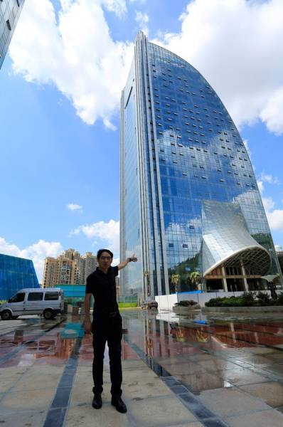 Have You Ever Seen A Waterfall On… A Skyscraper?