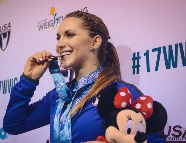 This 22 Year-Old Olympic Weightlifter Could Teach Us A Lot About Happy Relationships