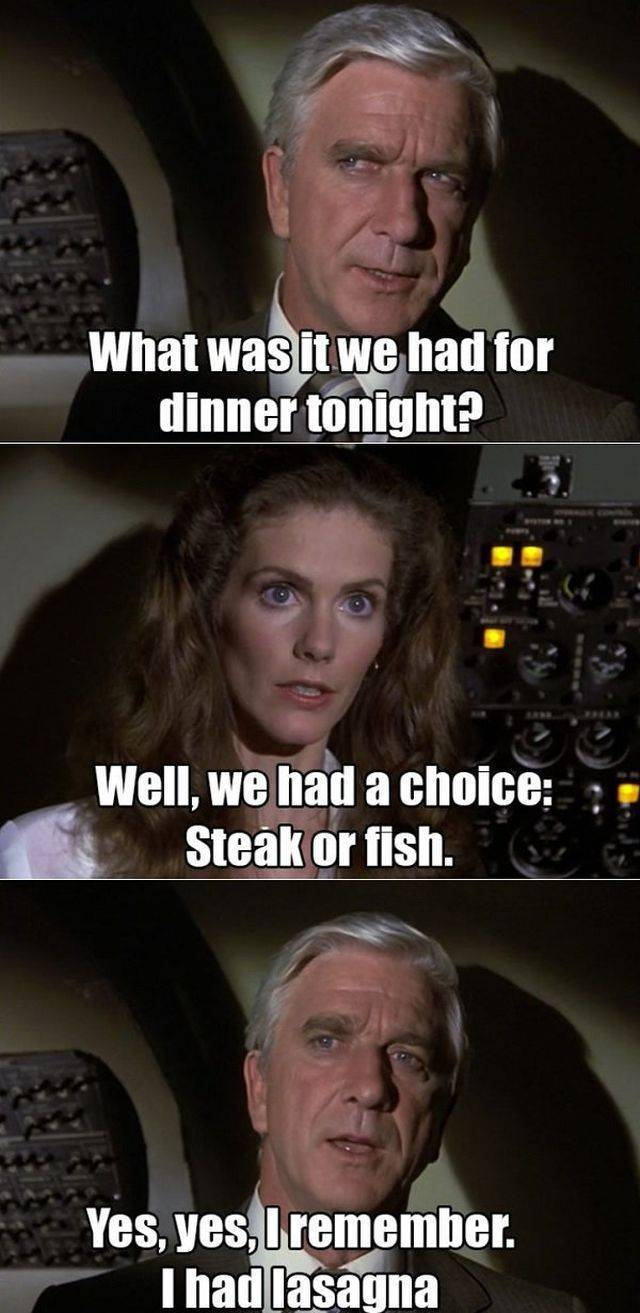 """Mile-High Moments From """"Airplane!"""""""