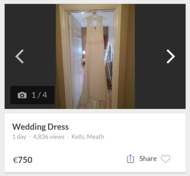 Cheating Fiancé's Wedding Dress Had To Be Put To Another Use