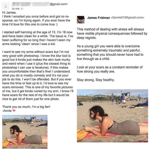More Masterpieces Made By The Famous Photoshop Troll James Fridman