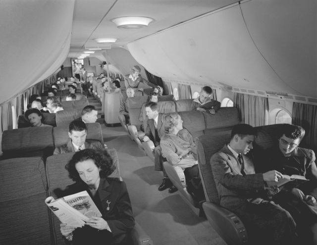 How Flights Looked Like Back In The 50s