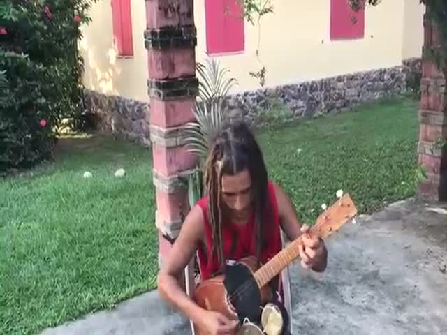 A Full Reggae Band In One Person!