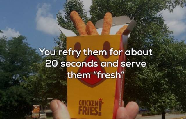 Fast Food Workers Know What You Should Never Buy
