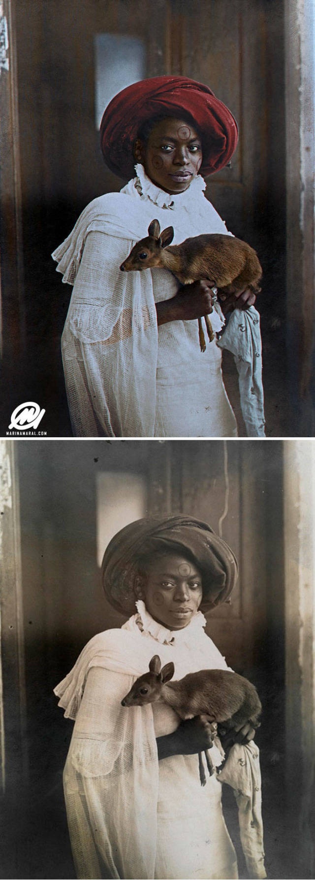 This Artist Professionally Brings Color To History
