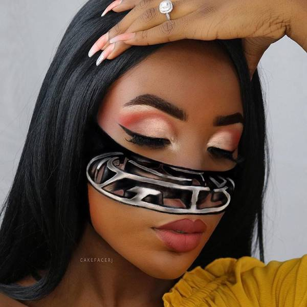 For This Makeup Artist Her Own Face Is Her Best Canvas