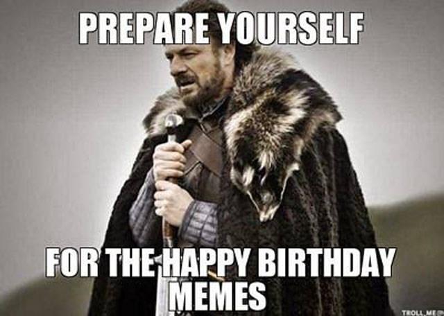 Festive Memes For Any Birthday