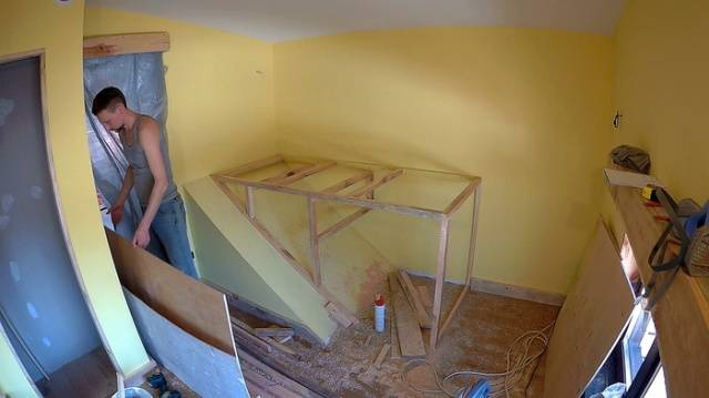Kids Are Lucky To Have Their Father Who Can Construct Such A Bed For Them