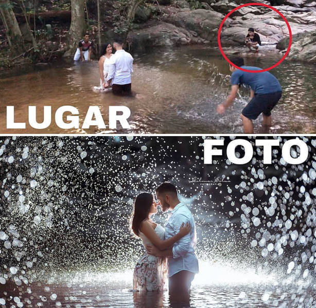 There's A Big Difference Between A Photo And A Place Where It Was Taken