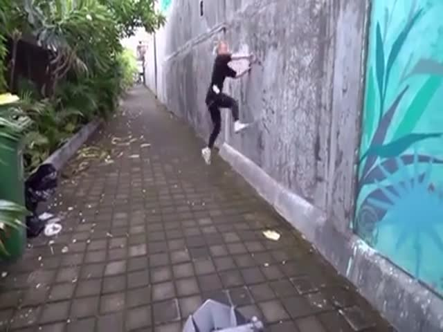 Sorry, Parkour Is Not For You…