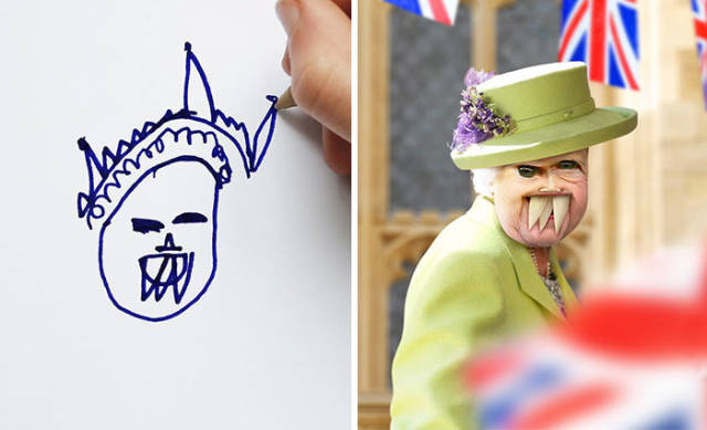 This Is Why Children's Drawings Should Never Become Real