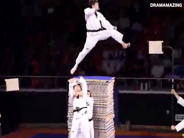 The Korean Taekwondo Team Is Unstoppable!