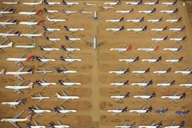 There Is A Whole Graveyard Of Cars And Aircrafts In A Californian Desert