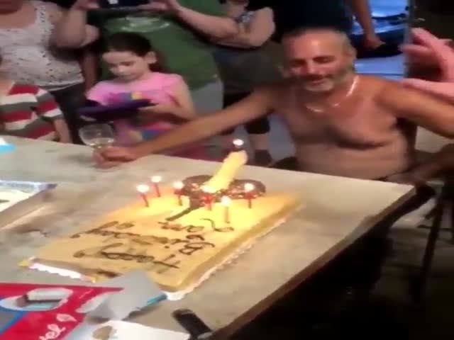 Well, That's An…Original Birthday Cake