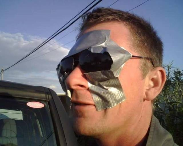 Duct Tape Can Save Anything!
