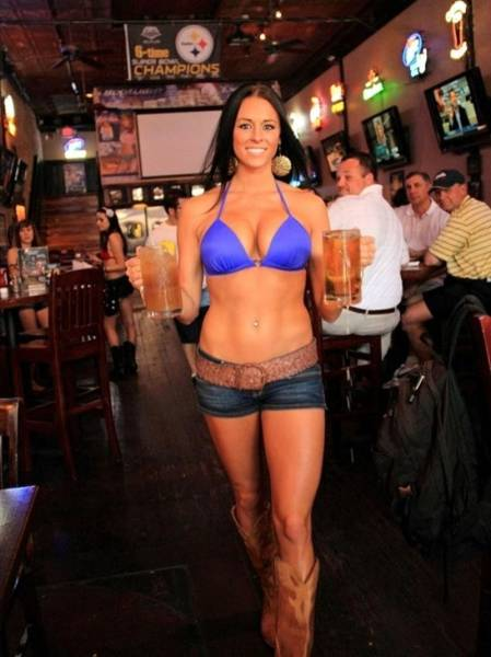 Waitresses Who Will Make You Leave Your Whole Paycheck As A Tip