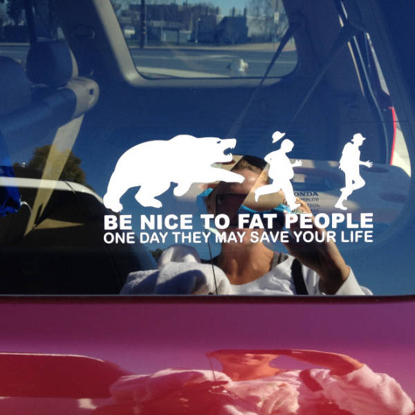 Bumper Sticker Is Another Opportunity To Show How Funny You Are