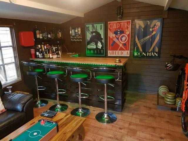 Perfect Man Caves To Run Away From It All