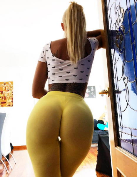 Yeah, Move Those Yoga Pants!