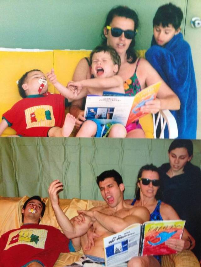 Fun Is What Keeps These Families Together